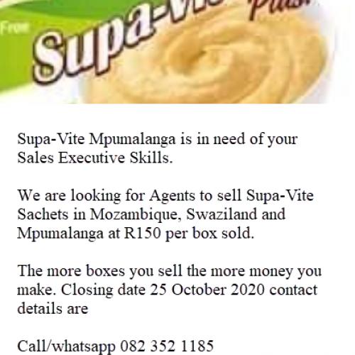 Supa Vite Sales Executives