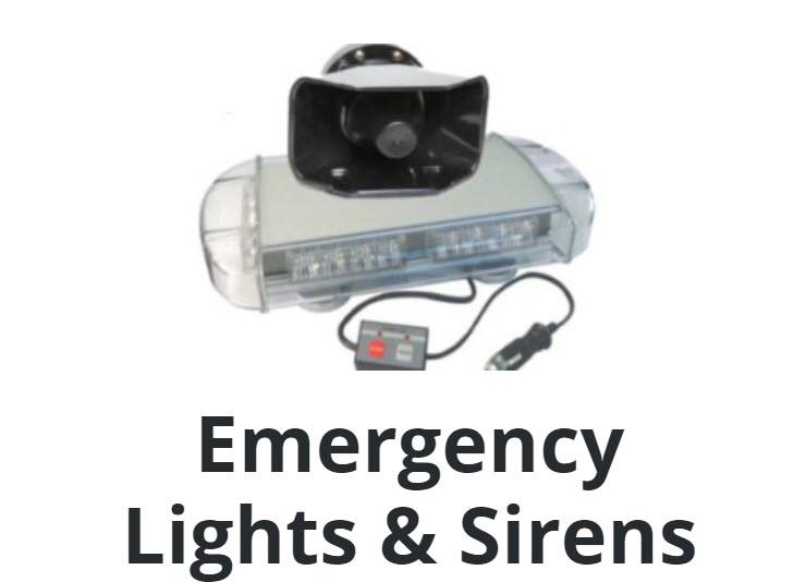 Emergency Lights & Sirens
